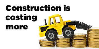 Infographic Construction is costing more