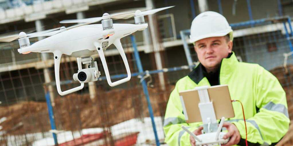 Construction Industry Gears Up For The Drone Revolution