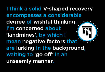 7 Reasons to be Skeptical Concerning a V-Shaped Recovery Graphic