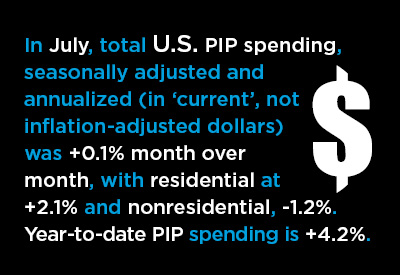 A Deeper Dive into the U.S. PIP Construction Statistics Reveals a Deeper Dive Graphic