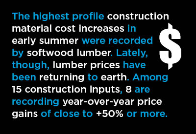 Gap Between Increases in Material Costs & Bid Prices Shrinks; Still Immense Graphic