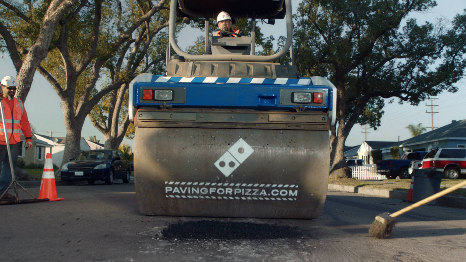 From Pizzas to Potholes: Domino's Now Delivers Road Repairs