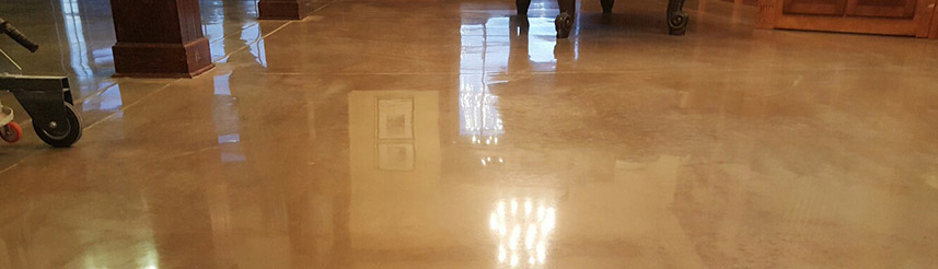 shiny floor