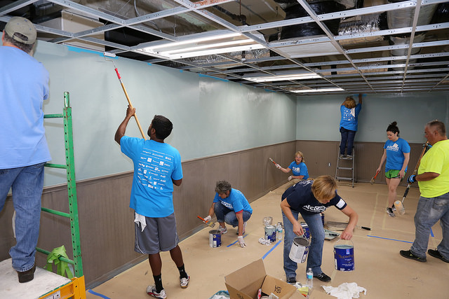 AEC Cares' Blitz Build Renovates Center for Women & Families