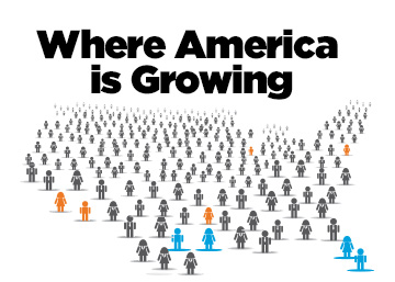 Infographic: Where America is Growing Graphic