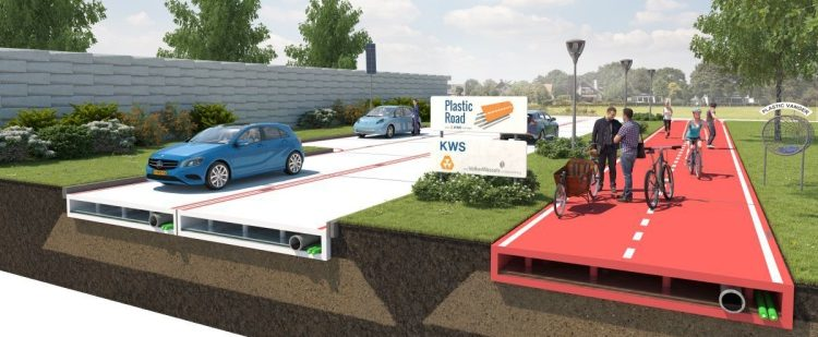 Is Recycled Plastic the Key to Building Better Roads and Bridges?