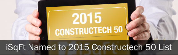iSqFt Named to 2015 Constructech 50 List